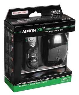 AIMON XB WIRELESS LASER MOUSE CONTROLLER XBOX 360 PC