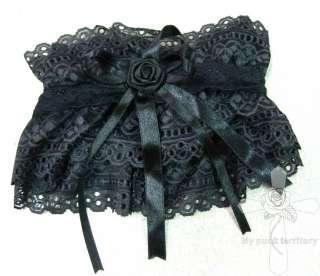 Gothic Lolita DARK WHISPER Rose Sanctuary Lace Choker