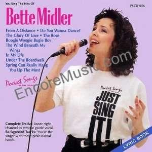 You Sing The Hits of Bette Midler Karaoke   Pocket Songs