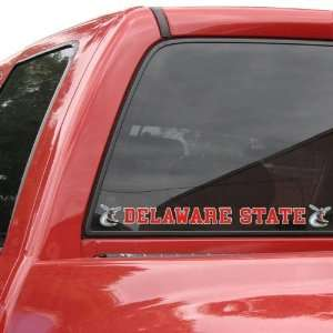 Delaware State Hornets Automobile Decal Strip: Sports