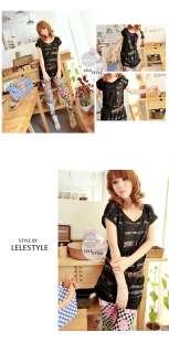 2012New Summer South Korean sexy fashionable womans T shirt dress