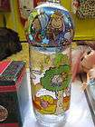 LOT OF 2 PEANUTS GANG VINTAGE DRINKING GLASS & ORNAMENT