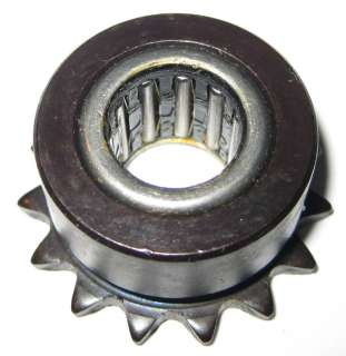One Way Needle Roller Bearing w Sprocket   Anti Reverse Bearing