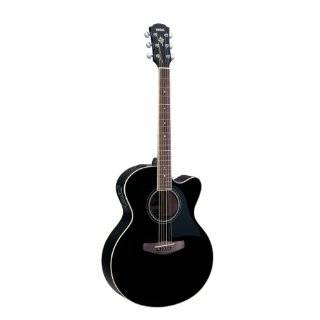 Yamaha CPX500II Black Full Body Acoustic Electric Guitar w