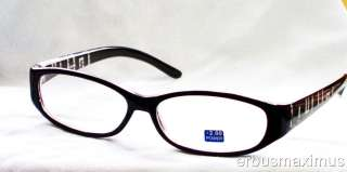 READING GLASSES WOMEN PLASTIC FRAME FREE SHIP