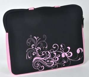 15.4 PINK Laptop Notebook Carrying Bag Case Sleeve