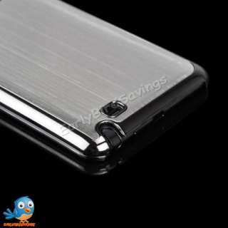 Brushed Metal Aluminum Hard Case for Samsung Galaxy Note I9220 N7000