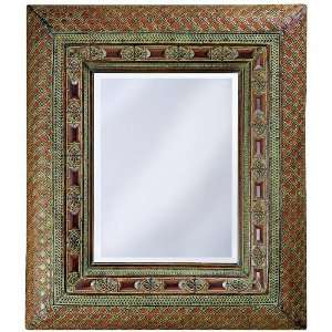 Galvez Metal 40 High Wall Mirror: Home Improvement