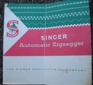 Singer FEATHERWEIGHT Sewing Machine 221K + Many Acessories   Zig Zag