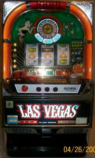 Licensed LAS VEGAS Casino SLOT MACHINE   Olympia Excellence Model
