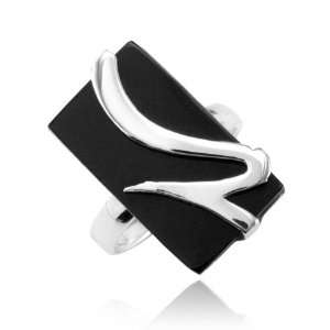 Sterling Silver Onyx Ring Everything Else
