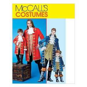 McCalls Costumes Sewing Pattern #M4626 Pirate Costumes for Men