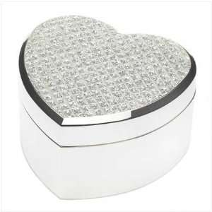 SPARKLE HEART JEWELRY BOX