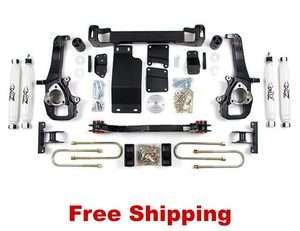 Dodge Ram 1500 4WD   Zone Offroad 5Suspension Lift Kit PN D14