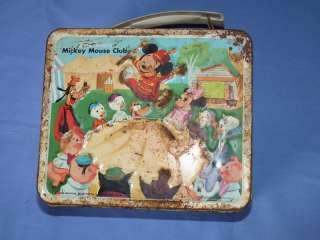 Original Mickey Mouse Club Aladdin Lunch Box