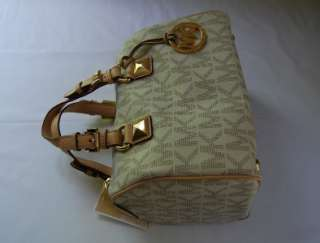 268 Michael Kors Grayson Small Satchel Vanilla