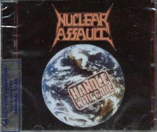 NUCLEAR ASSAULT, HANDLE WITH CARE + LIVE AT THE HAMMERSMITH ODEON