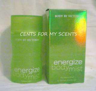VICTORIA SECRET BODY BY VICTORIA ENERGIZE MIST PERFUME
