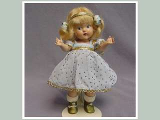 VOGUE Painted Eye Strung Doll 1949 CRISTY Rare & HTF SUPER LOVELY