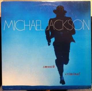 JACKSON smooth criminal 12 Mint  49 07895 Vinyl 1987 Record
