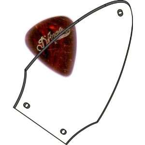 Clear Transparent Gibson Flying V Truss Rod Cover Musical Instruments