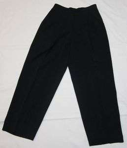 Pants Slacks Valerie Stevens Navy Blue 10 Dress EUC