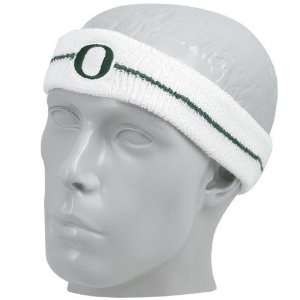 Nike Oregon Ducks White Game On Headband: Sports