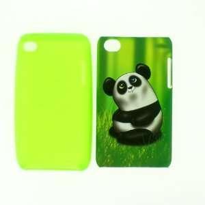 2 in 1 Panda Design Hybrid Snap on Hard Skin Cover Case