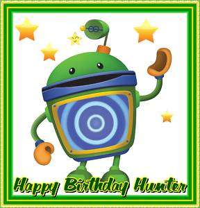 Team Umizoomi BOT Frosting Sheet Edible Cake Topper