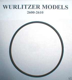 Wurlitzer Jukebox Turntable belt 2600 & 2610 models