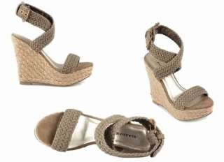 STYLE NEW LADIES ESPADRILLE WEEKEND WEDGES HEELS BY SHOE SHOE