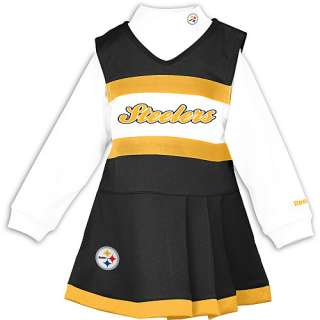 Pittsburgh Steelers Girls Apparel Reebok Pittsburgh Steelers Toddler