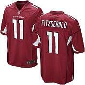 Mens Nike Arizona Cardinals Larry Fitzgerald Game Team Color Jersey