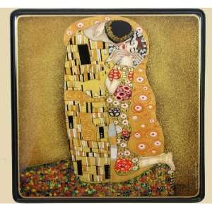 Box (#3039) KISS after painting of Gustav Klimt KISS