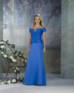 Long Chiffon Mother of the Bride Dresses Prom Gown NEW