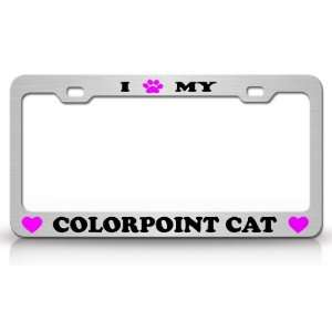 com I PAW MY COLORPOINT Cat Pet Animal High Quality STEEL /METAL Auto