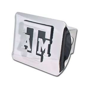 Texas A&M University Aggies Chrome Trailer Hitch Cover