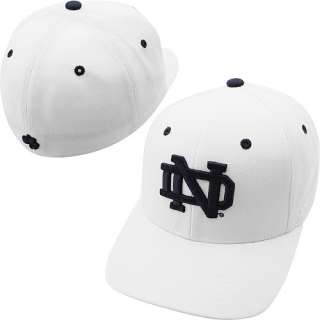 Zephyr Notre Dame Fighting Irish DH Fitted Hat White