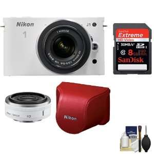 with 8GB Card + Red Leather Case + Cleaning Kit NIKON