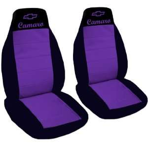 and purple car seat covers for 2002 Chevrolet Camaro. Automotive