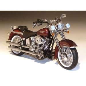 2011 Harley Davidson FLSTN Softail Deluxe 1/12 Dark Candy