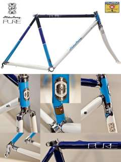 Slide Away PURE Steel Road Bike Frame 51CM Columbus SL Triple Butted