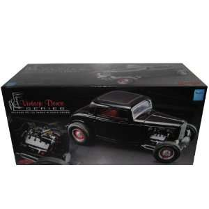 1932 Ford 3 Three Window Coupe Black 1/18 1of3200 GMP