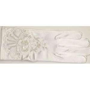 Inch White Ecru Color Spandex Opera Wedding Prom Gloves Toys & Games