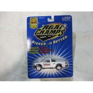 Cast Car 143 Scale Uhaul Chevy S10ZR2 Pickup Truck 1998 Toys & Games