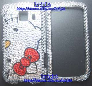 New Hello kitty Bling Case For LG Optimus S LS670 #3