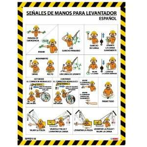 POSTERS SPANISH CRANE HAND SIGNALS: Home Improvement