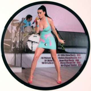 Katy Perry   I Kissed A Girl Part 1 (Picture Disc) NEW