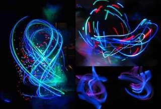 5x Leuchtbrille Knicklicht Brille Party Neon Glow mix