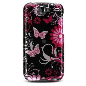 Pink Butterfly Design) for Google Nexus One Cell Phones & Accessories
